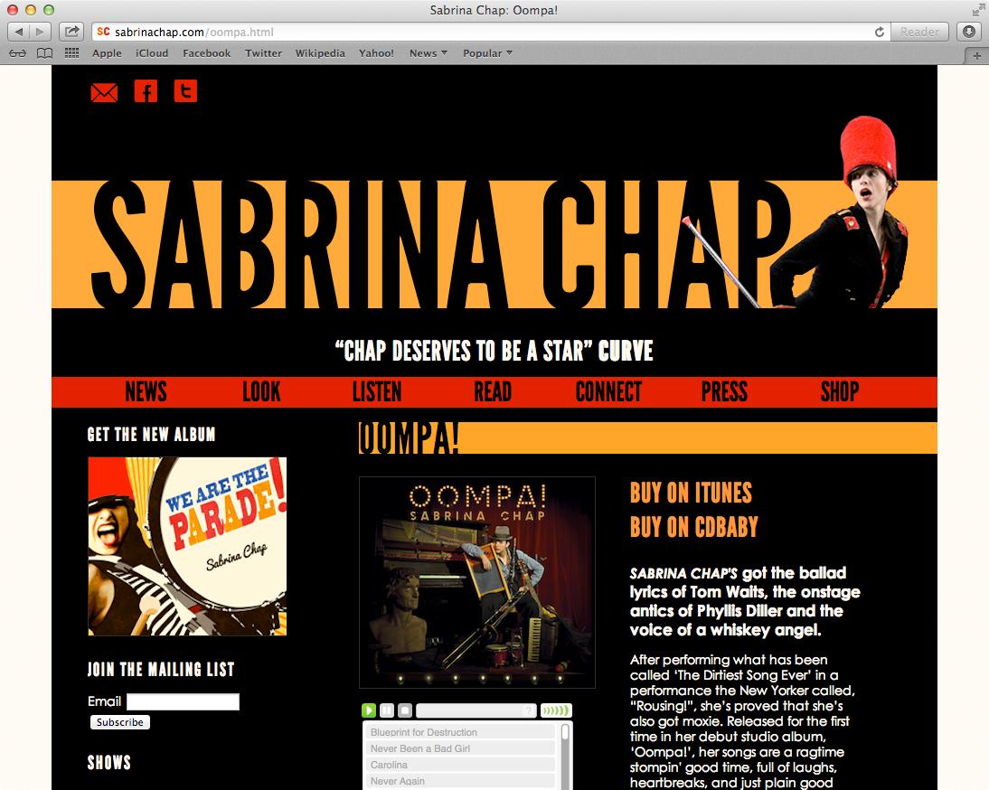 Sabrinachap.com