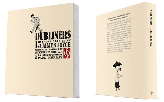 Dubliners mockup